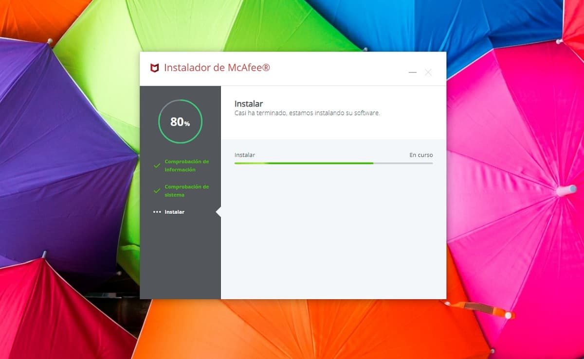 Instalar antivirus McAfee en Windows