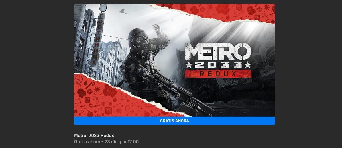 Metro 2033 Redux gratis