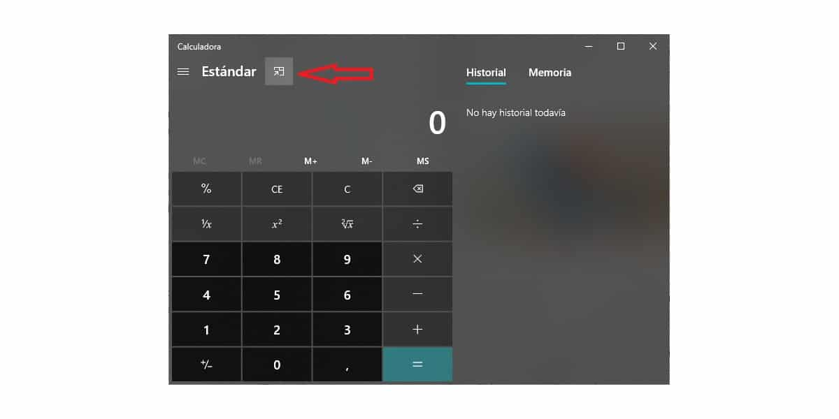 Calculadora Windows 10