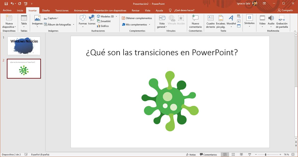 Transiciones PowerPoint