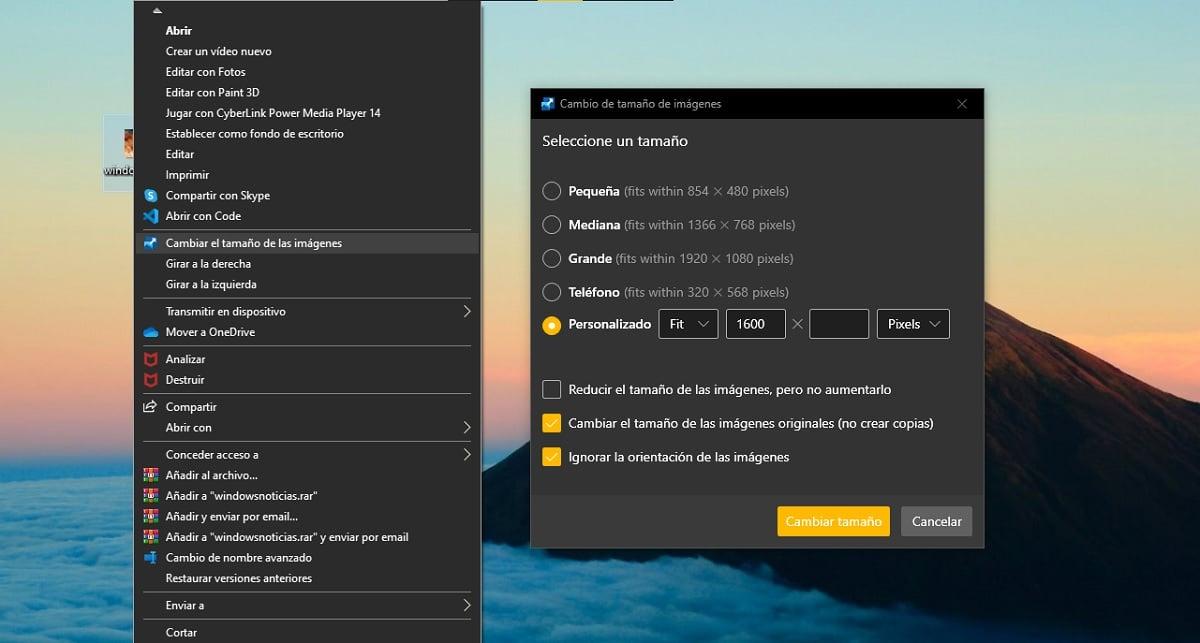 Cambiar el ancho de una imagen con Microsoft PowerToys