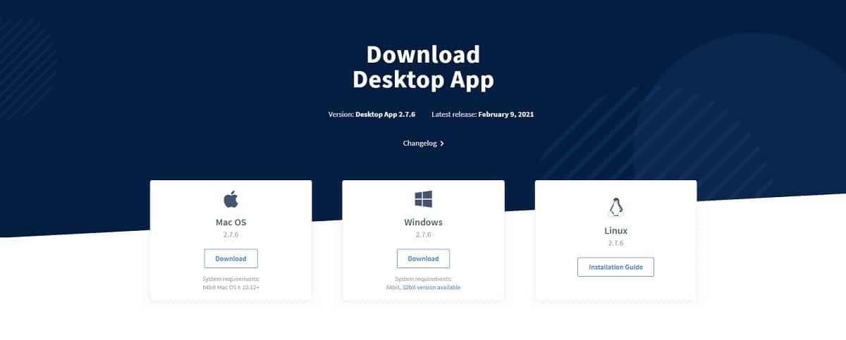 Descargar cliente de ownCloud para Windows