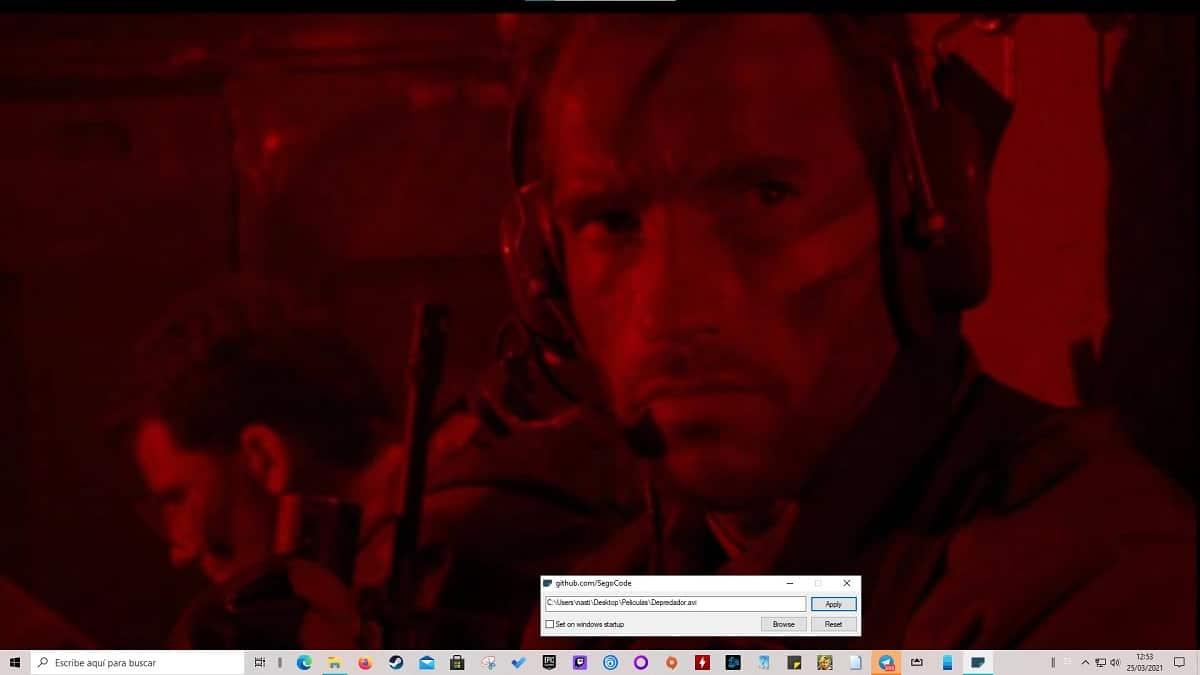 Videos fondo de pantalla