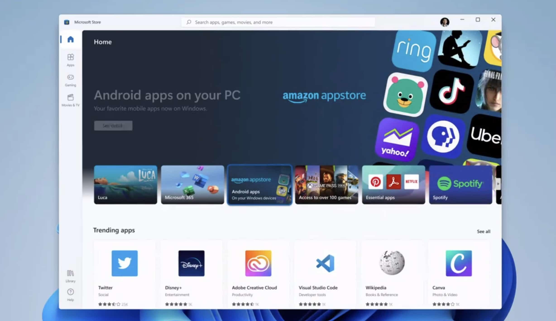 Instalar aplicaciones Android en Windows 11