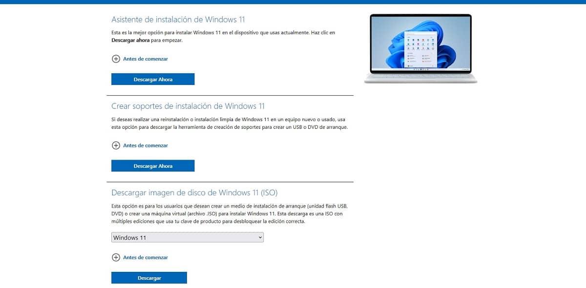 Descargar Windows 11